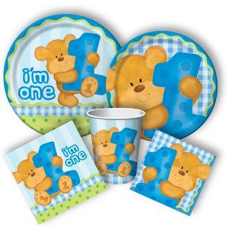 Teddy Bear 1st Birthday Supplies Teddy Bear Party Supplies Teddy Bear Birthday Party Teddy Bear Picnic Birthday Party 1st Birthday Party Supplies