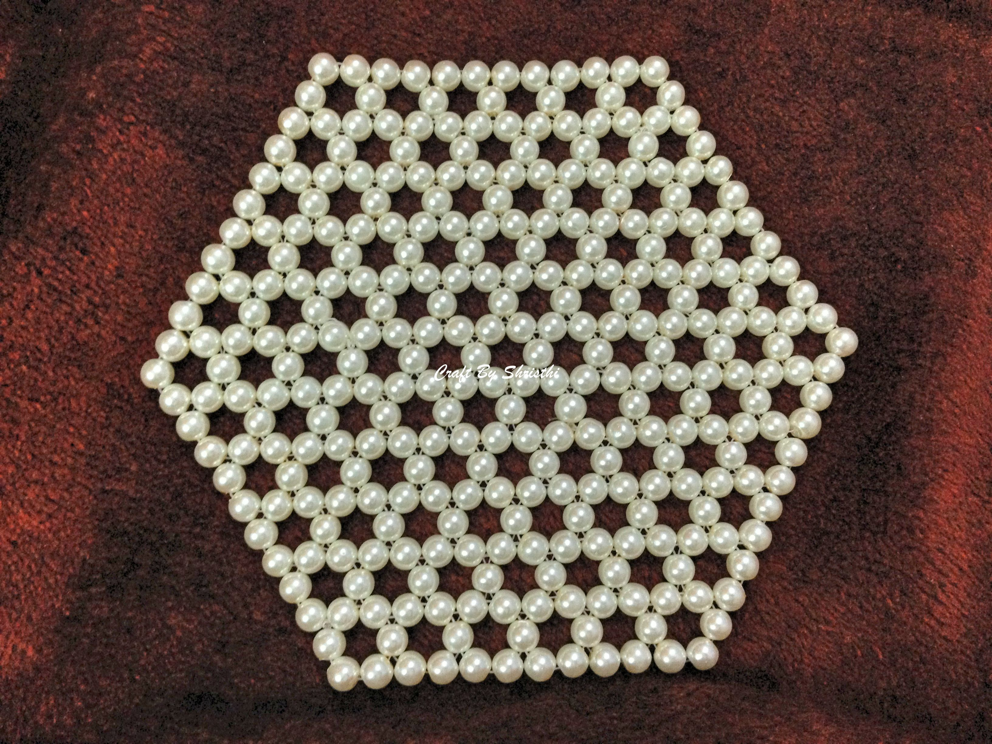 Handmade table mats design - Beads Table Mat Http Shristhi4dec Blogspot In