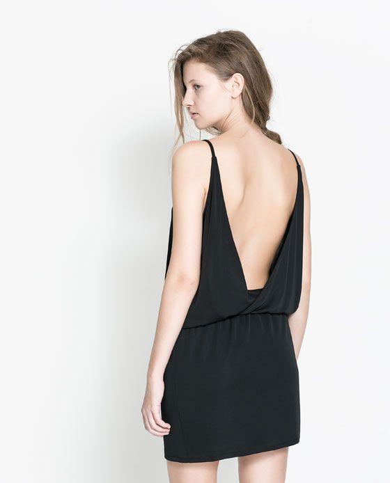 imagen 4 de vestido espalda abierta de zara | dresses | vestidos