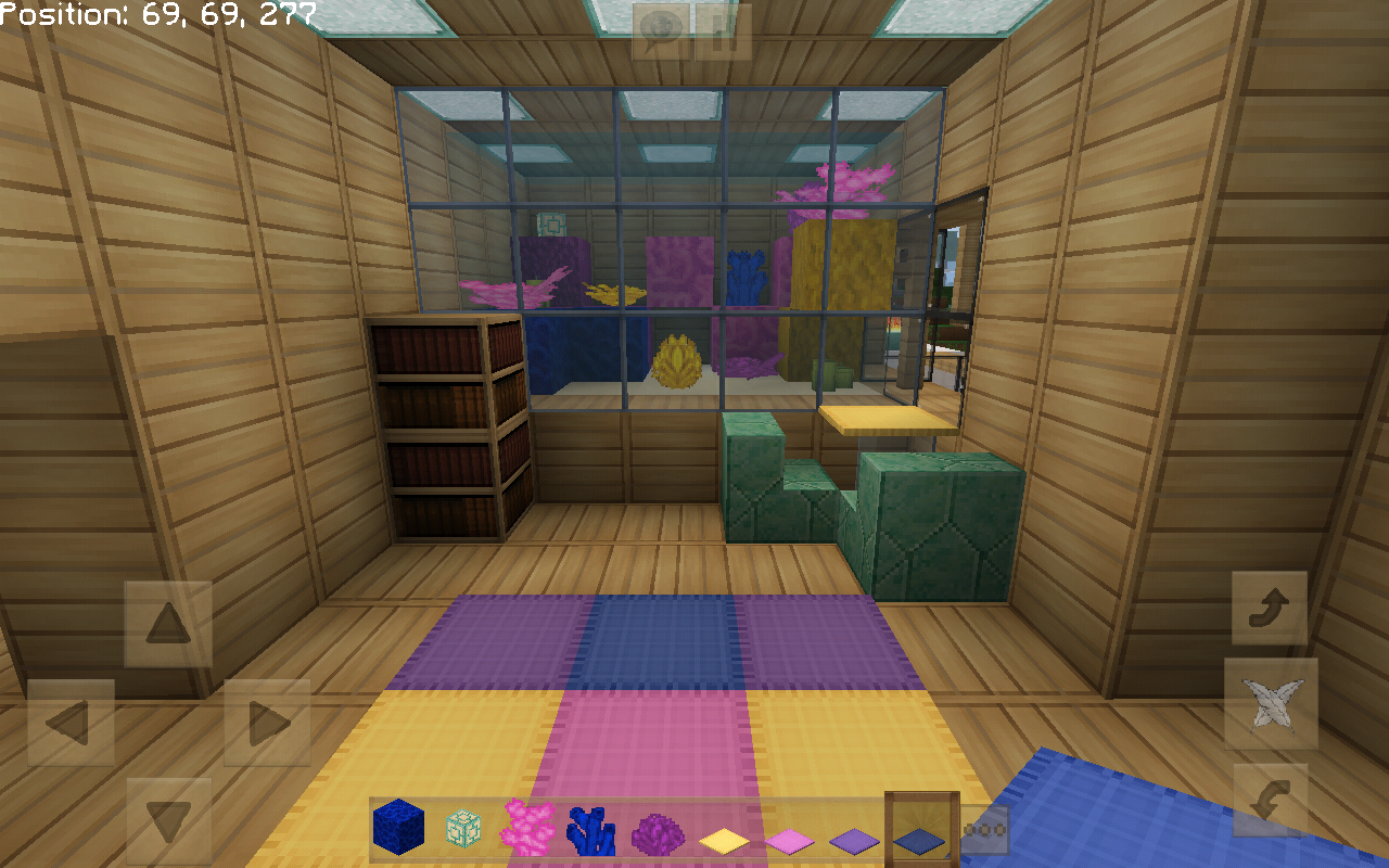 My Aquarium Themed Kids Bedroom Minecraft Buildings Minecraft