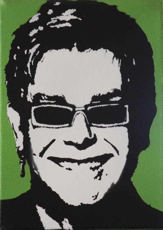 Elton John Silhouette Art Silhouette Printables Art