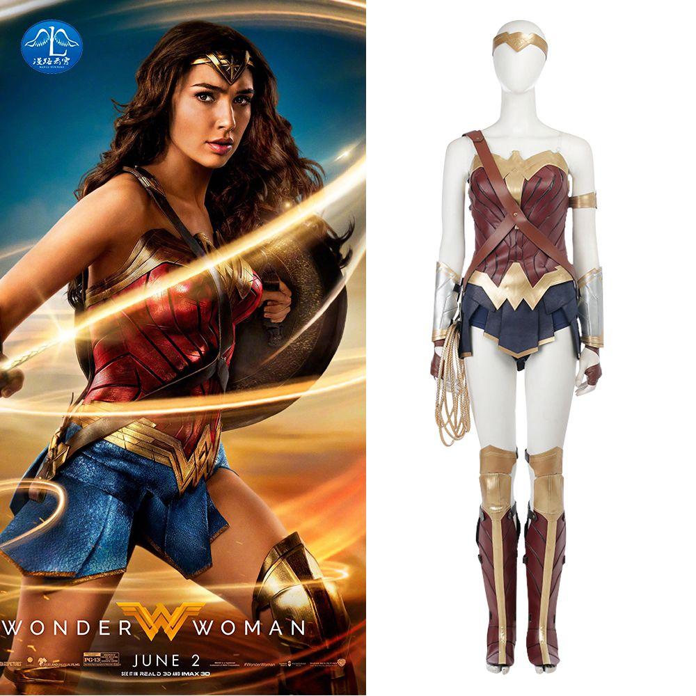 Click to Buy    MANLUYUNXIAO Wonder Woman Cosplay Costume Justice ... 18e82eb91