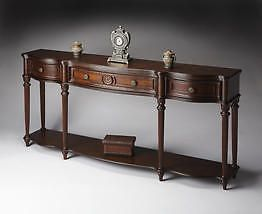 Butler Specialty Console Table Plantation Cherry Finish - 3028024 NEW #ButlerSpecialty