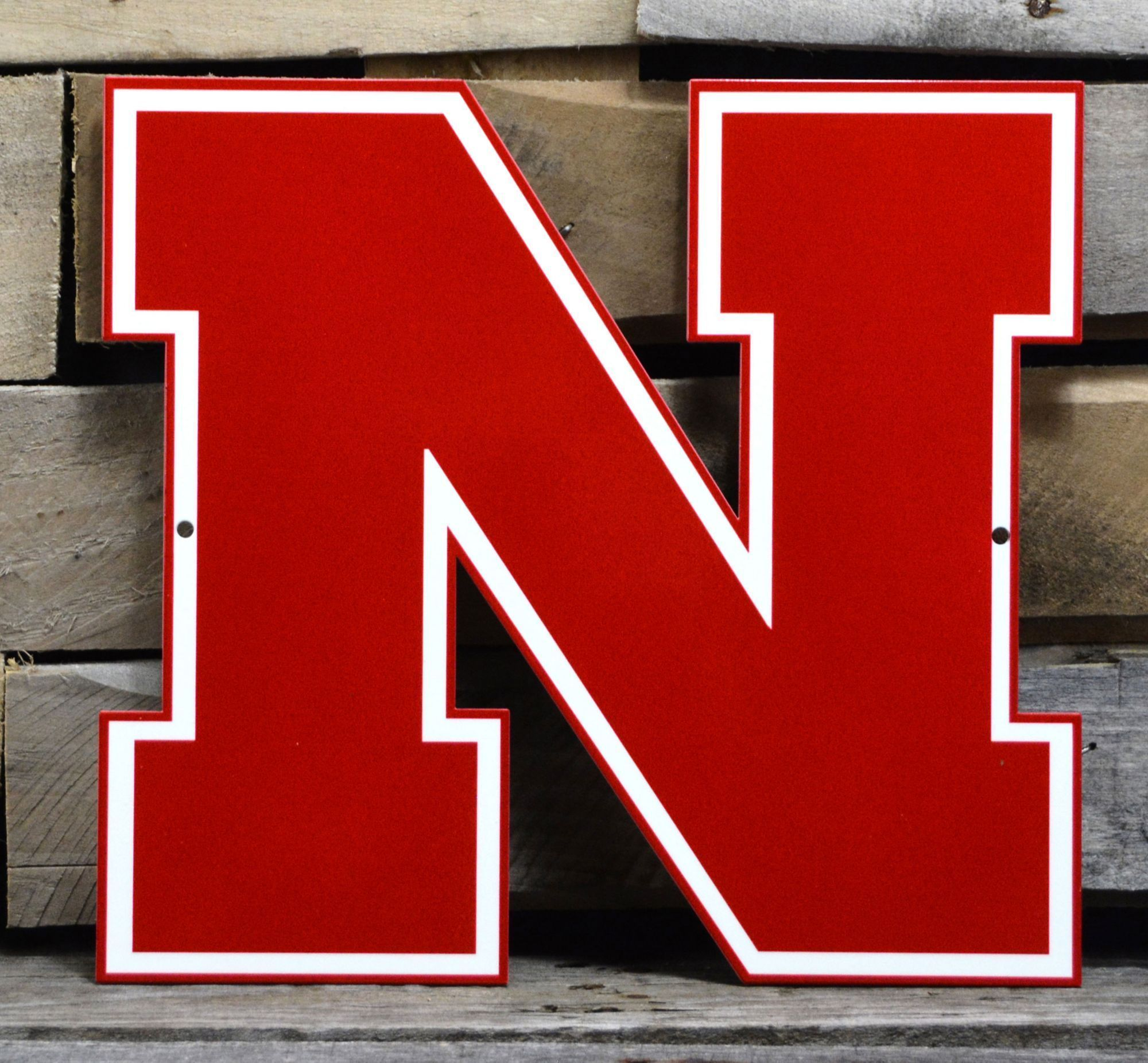 Authentic Street Signs Nebraska Cornhuskers Steel Logo Sign Multi Best Picture For Nebraska Zoo For Your Taste You Nebraska Cornhuskers Logo Sign Nebraska