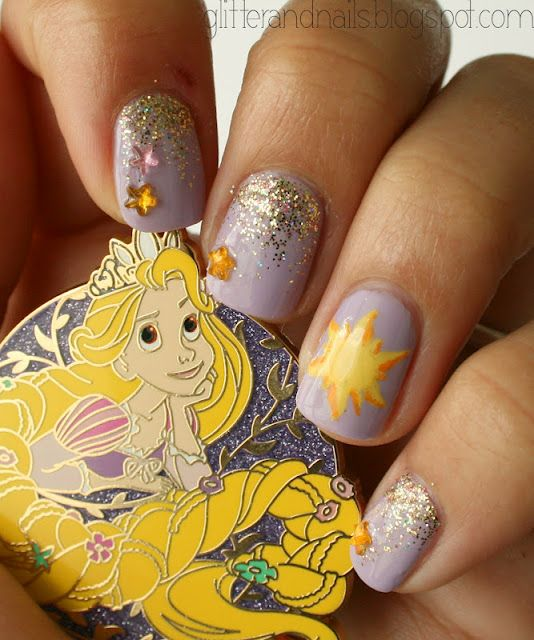 Rapunzel Nails: Pin By Riley Trist On Hair/ Nails/ Makeup/ Teenage Girl