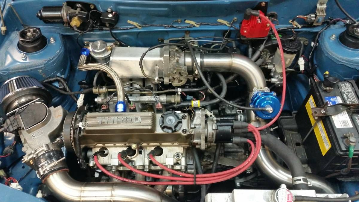 91 Chevrolet sprint turbo*lots of custom work* (Suzuki Swift for you and