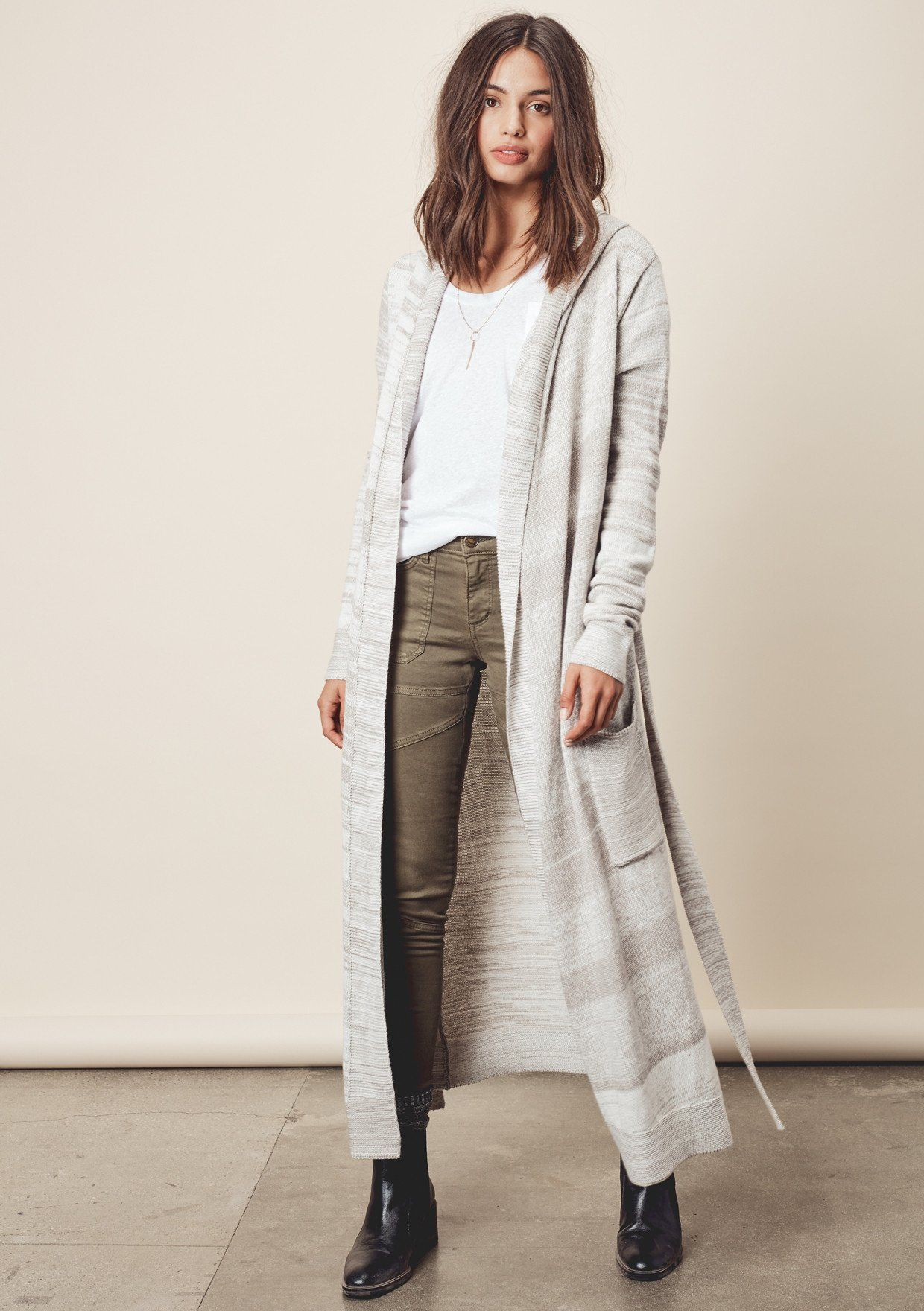 Charlie Duster Chic Light And Cozy Cardigan Outfits Outfit Combinations
