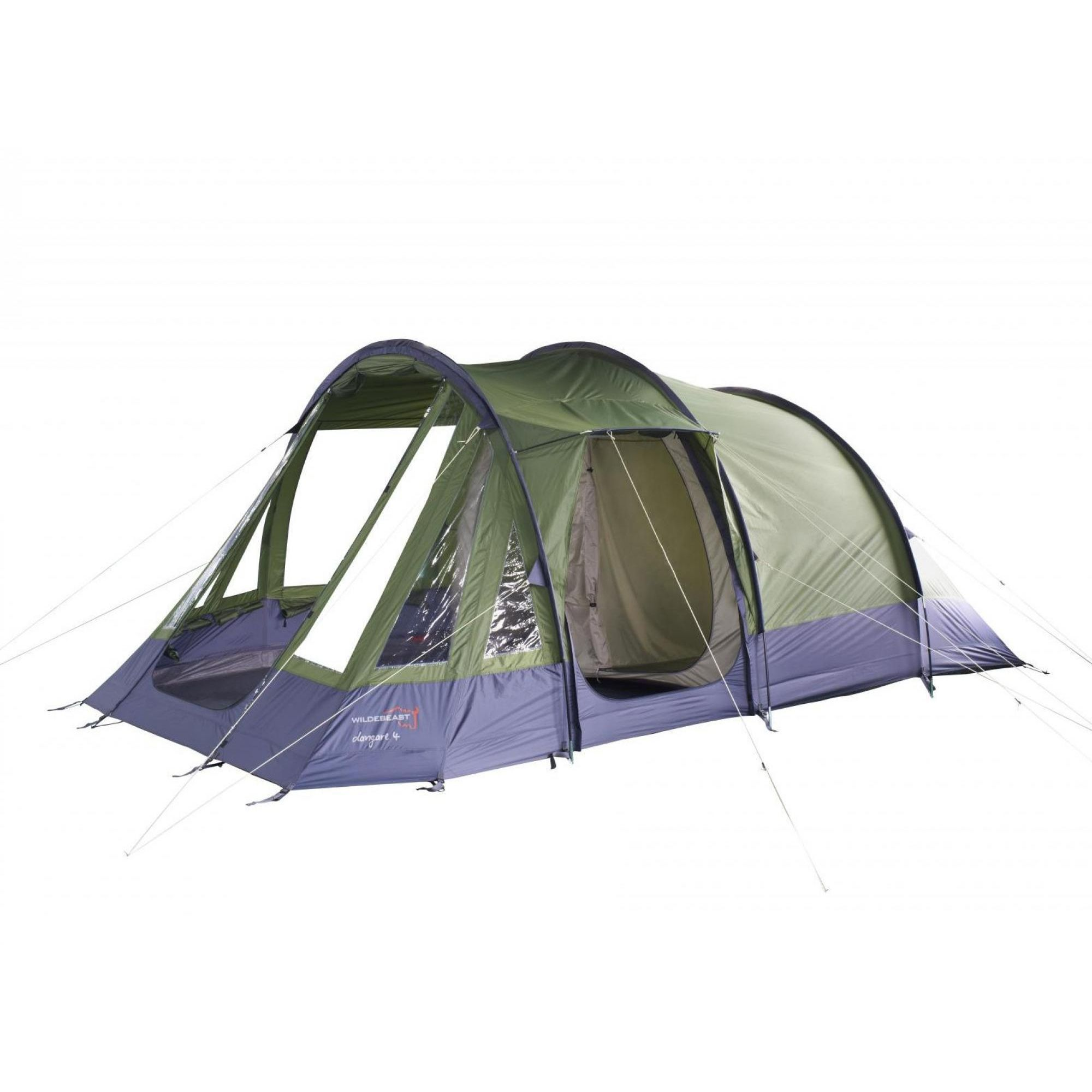 Spiksplinternieuw WILDEBEAST DANGARA 4 De Dangare 4 is een 4 persoons tunnel tent WP-89