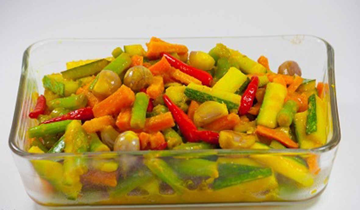 Resep Acar Kuning Timun Wortel Enak Segar Makanan Ringan Sehat Makan Malam Resep