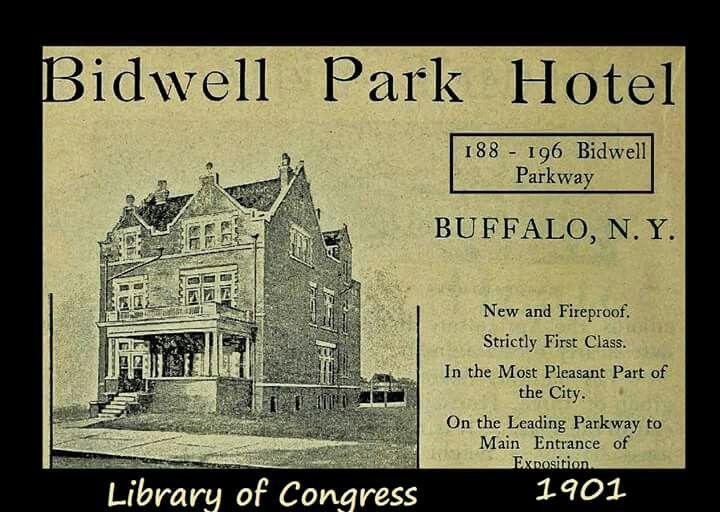 Bidwell Park Hotel Buffalo Ny 1901 Buffalo New York Buffalo Bidwell Park