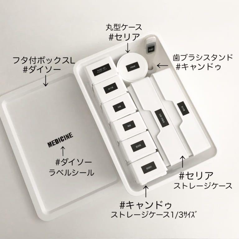白いケースが使いやすい セリア Sdカードケース の活用法 収納