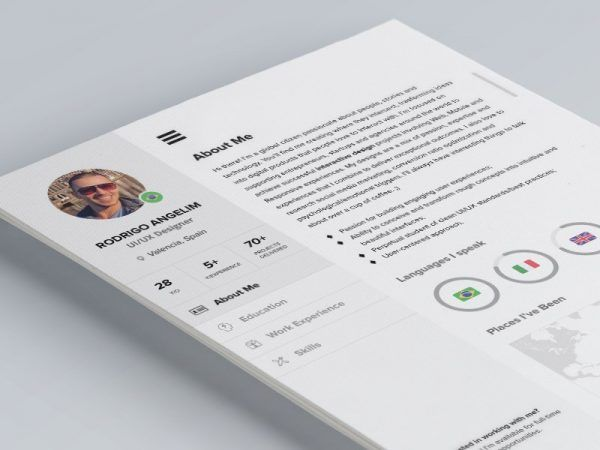 cv_shot Mockups Pinterest Creative resume templates - resumes that get you hired