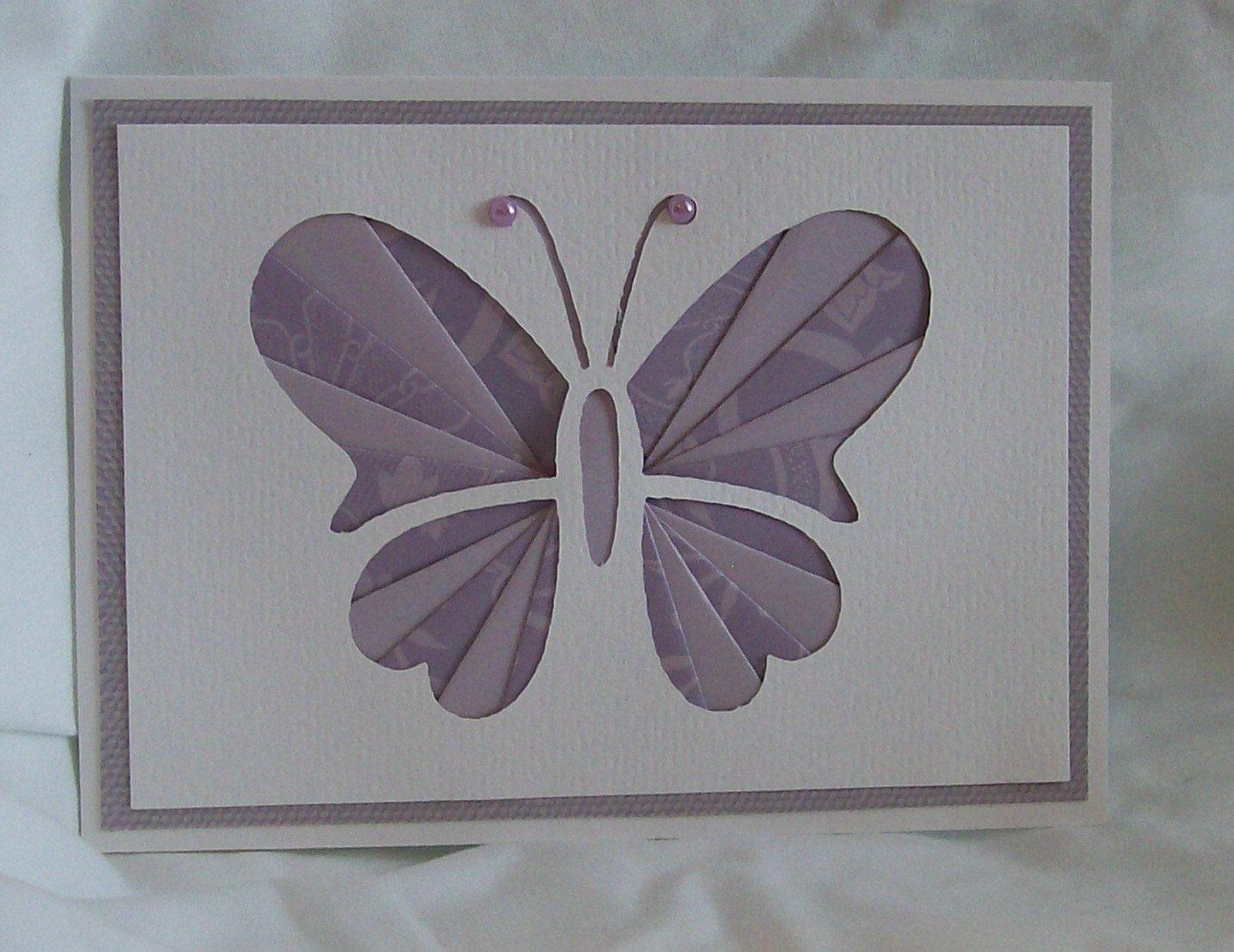 Iris Folded Butterfly Card. | Iris Folding Cards | Iris ... - photo#8