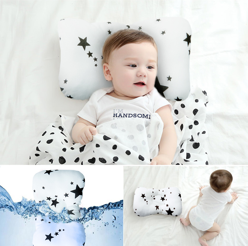 The amazing infant head shaping baby pillow in this kit ...