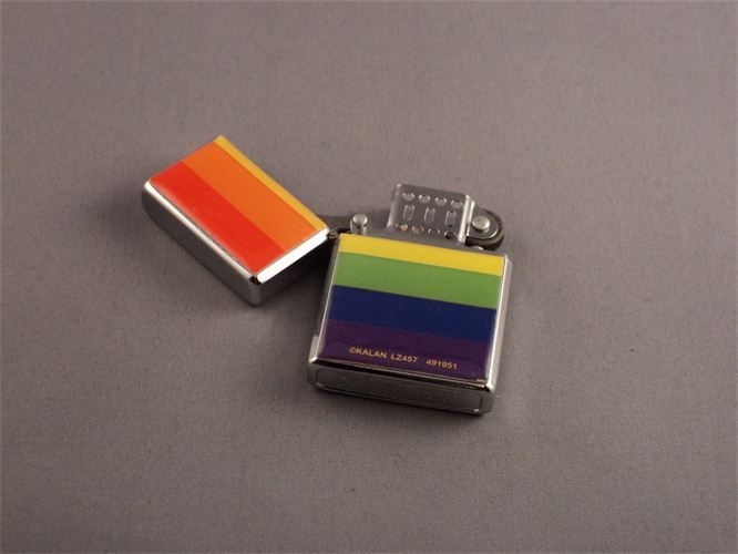 RAINBOW FLAG CIGARETTE LIGHTER