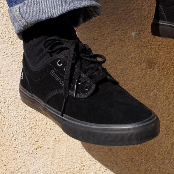Emerica Wino G6 Shoes   All black