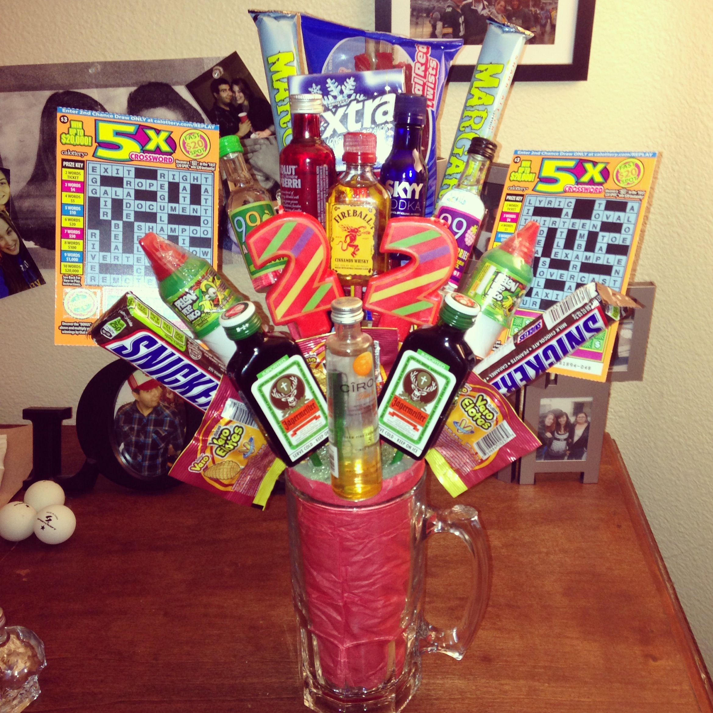 """Alcohol Bouquet Or A """"bro""""quet For My Best Friends"""