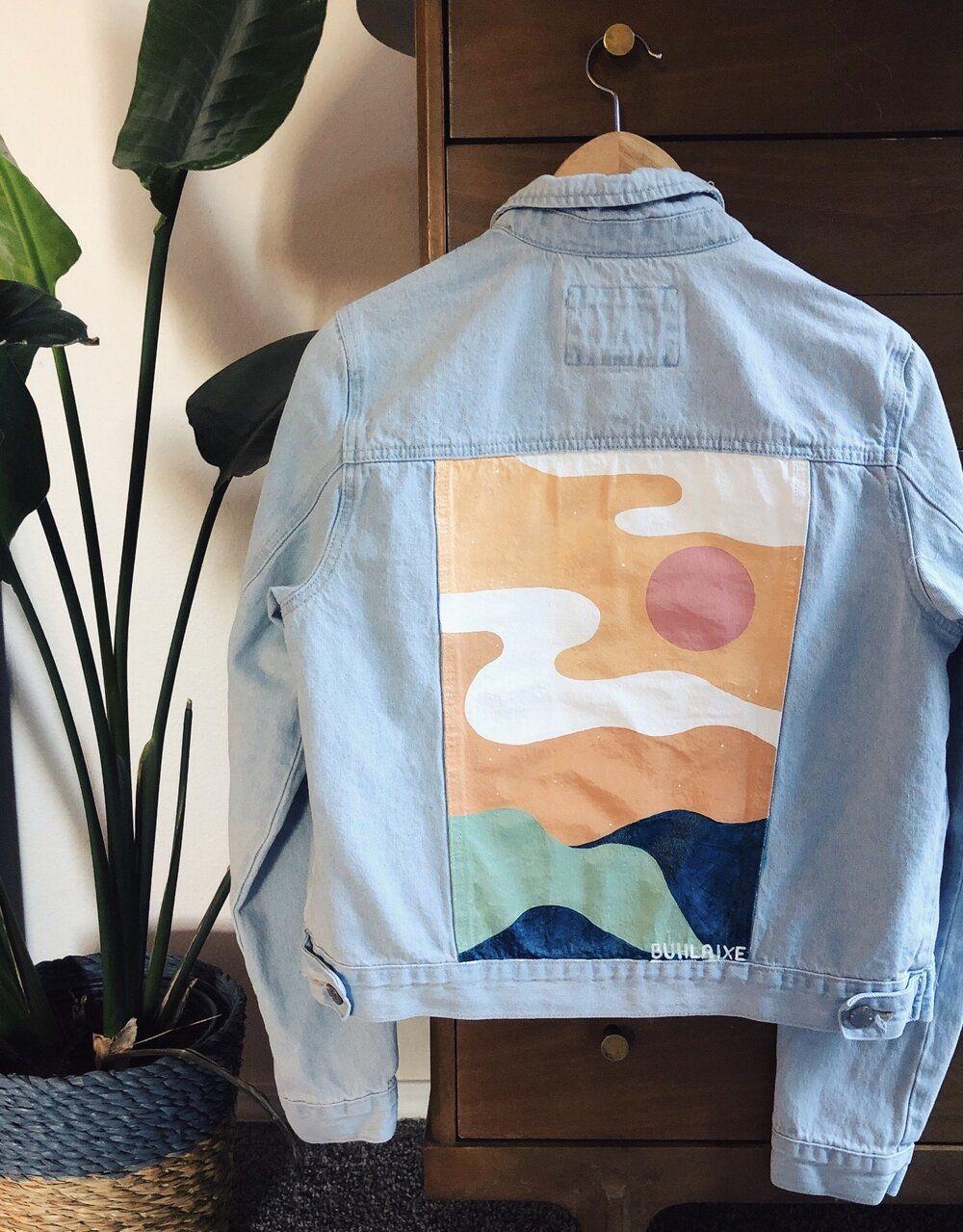 Img 4855 Jpg Painted Clothes Diy Diy Denim Jacket Diy Jacket [ 1279 x 1000 Pixel ]