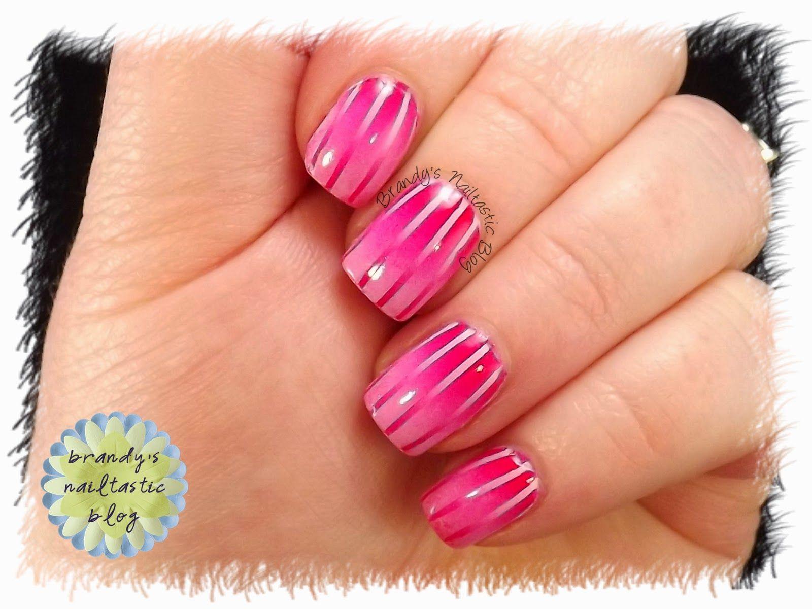 Brandy\'s Nailtastic Blog: Stripes #2 | My Nail Art | Pinterest