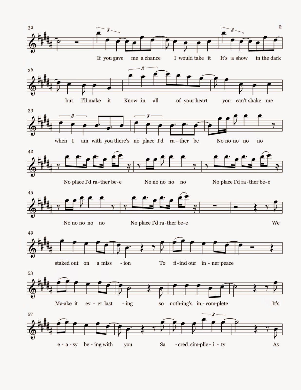 Flute Sheet Music Rather Be Sheet Music Sheet Music Flute Sheet Music Flute Music