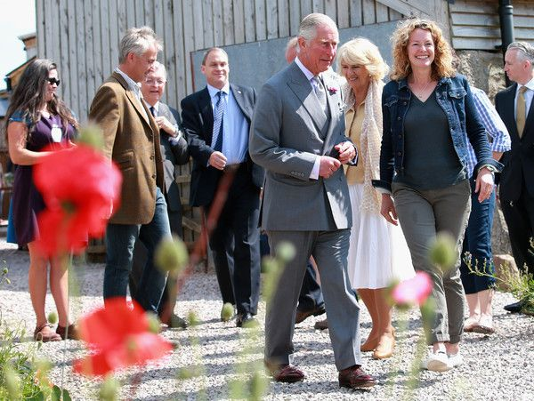 Camilla Parker Bowles Photos Photos: The Prince of Wales & Duchess of Cornwall Visit Wales - Day 4 #visitwales