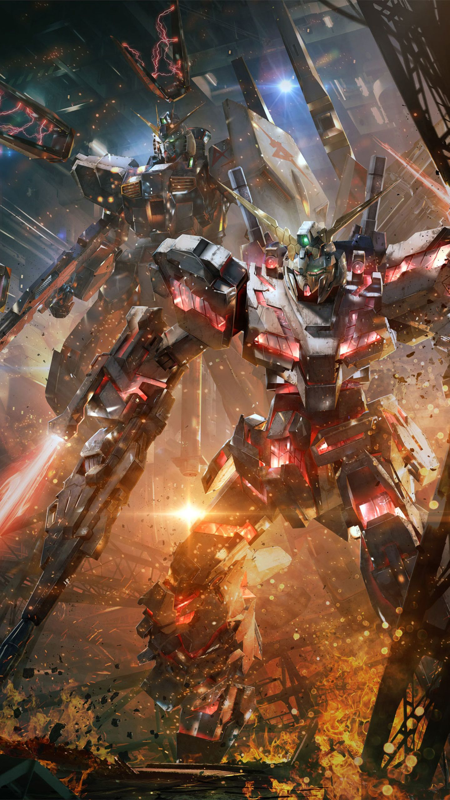 Gundam Wallpaper 1440x2560 Mywallpapers Site In 2020 Gundam Wallpapers Gundam Mobile Suit Unicorn Gundam
