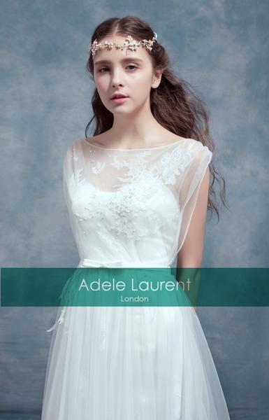 Emil| Elegant lace dress with illusion back | Brautkleid | Pinterest ...