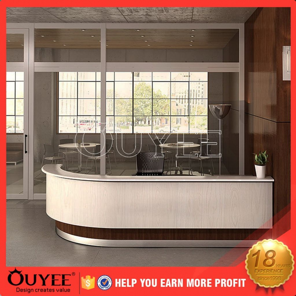Rezeption mit glass display best home office Möbel Eine der besten ...
