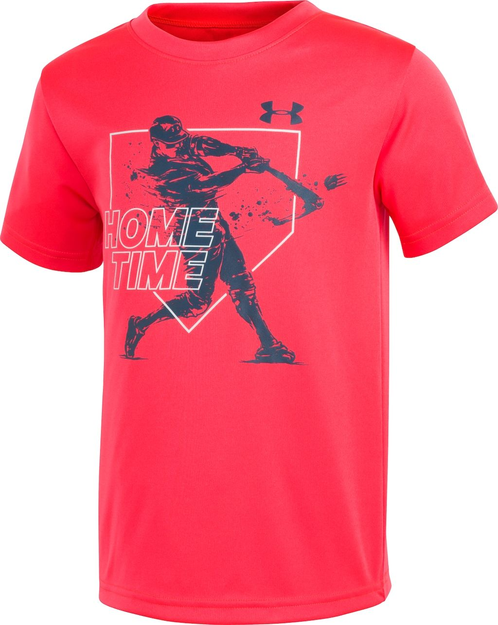 7baa510f Boys 4-7 Under Armour Baseball Batter Graphic Tee, Size: 4, Brt Red ...
