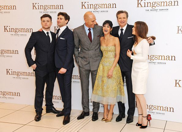 Taron Egerton Edward Holcroft Sophie Cookson Mark: (EMBARGOED FOR PUBLICATION IN UK TABLOID NEWSPAPERS UNTIL