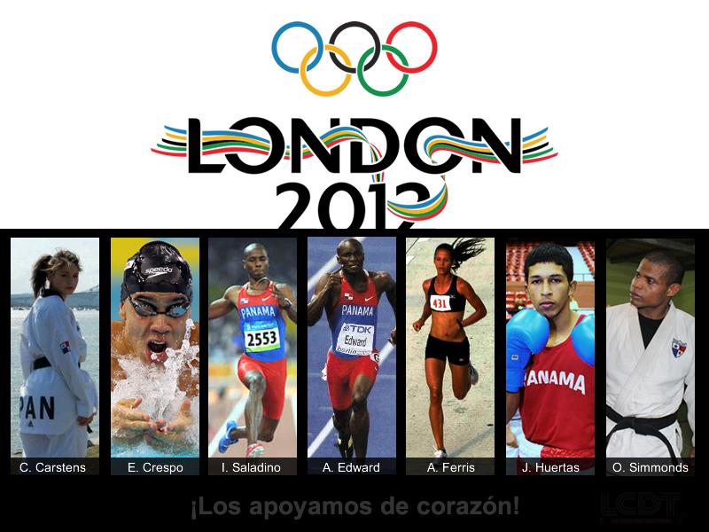 Panamá, Londres2012: @CarolenaPanama, @EdgarCrespo11, @irvingsaladino, @AlonsoEdward, @ferris800, @simmonds81kg, Juan H.