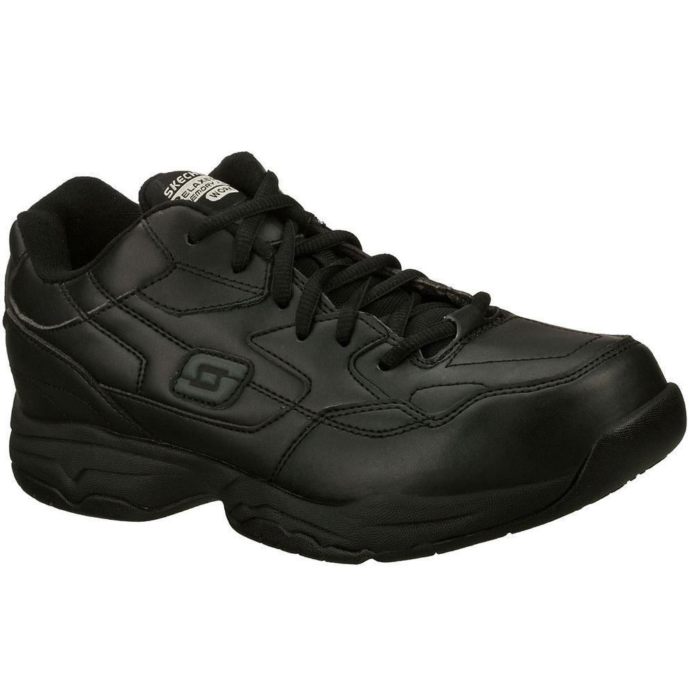 Felton Altair Men Size 11 5 Black Synthetic Work Shoe Skechers