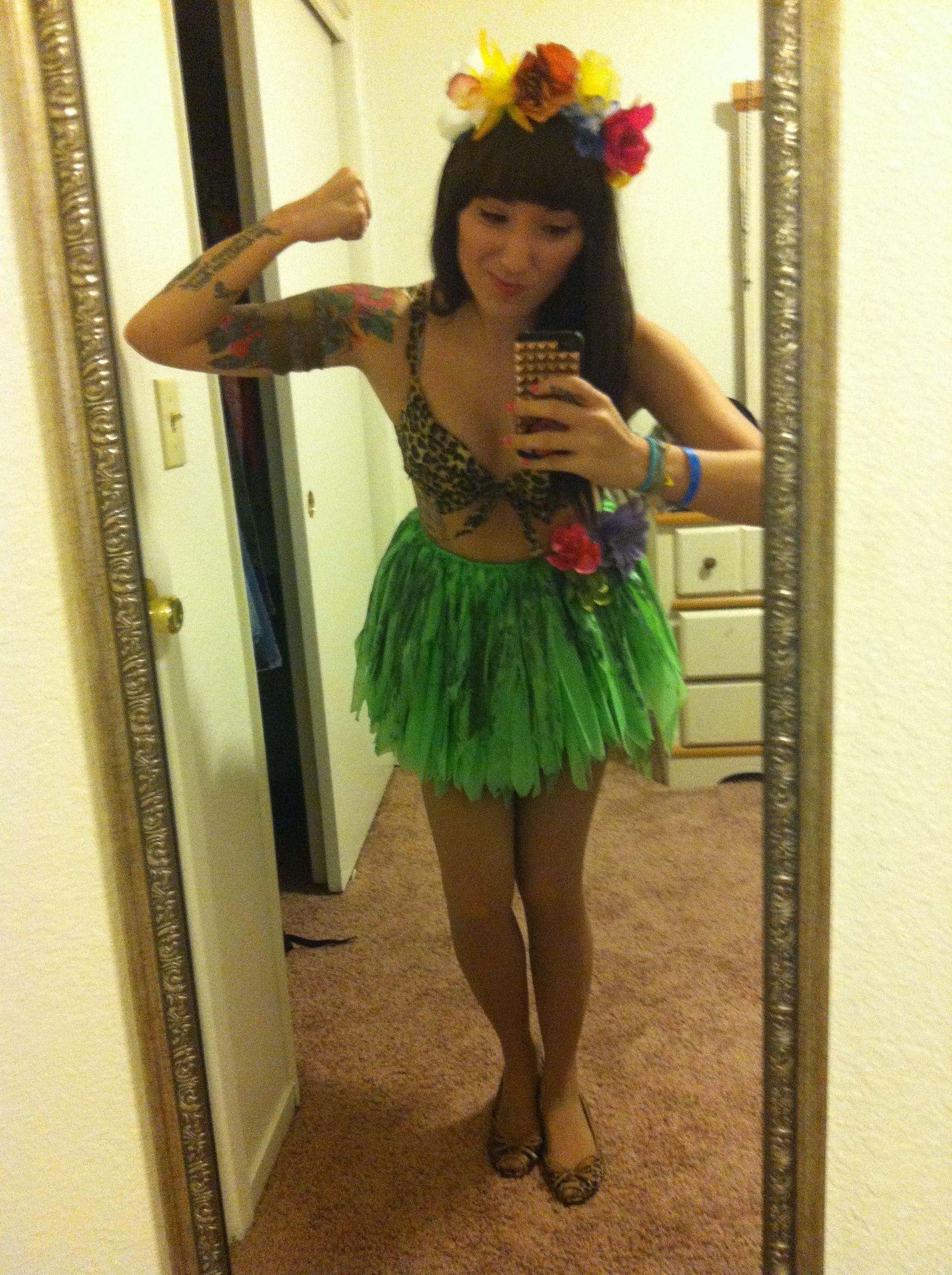 My completely home made Katy Perry  Roar  costume.  sc 1 st  Pinterest & My completely home made Katy Perry