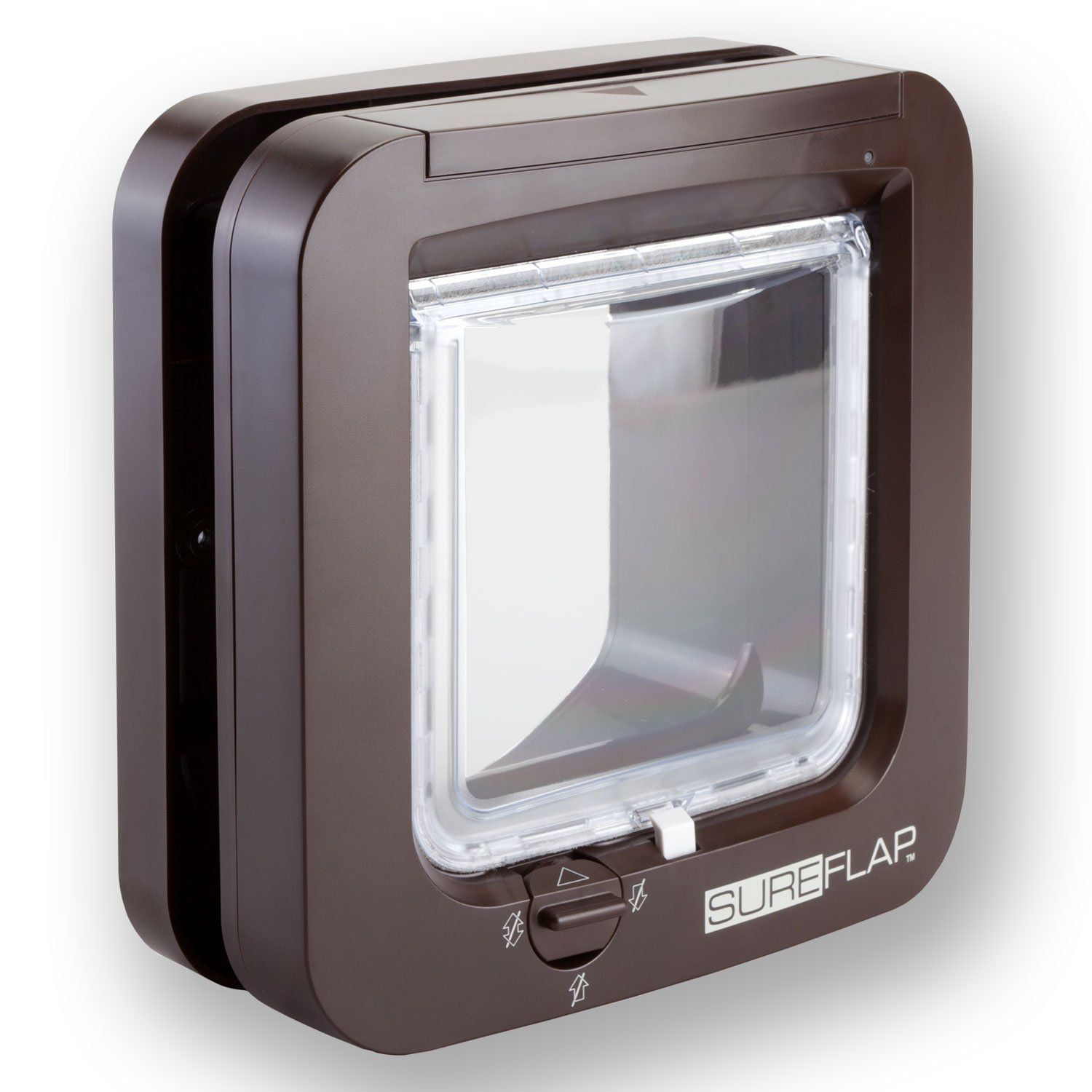 SureFlap Microchip Cat Flap in Brown >>> Read more at the