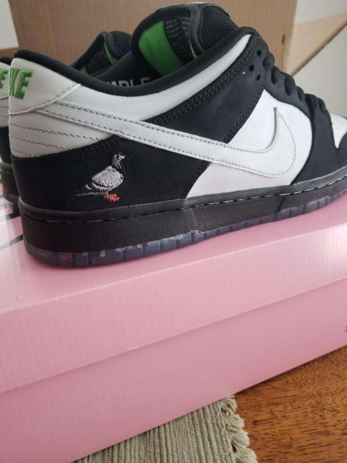 watch ed9ce 52f49 Details about DS Nike SB Dunk Low Quickstrike Staple Panda ...