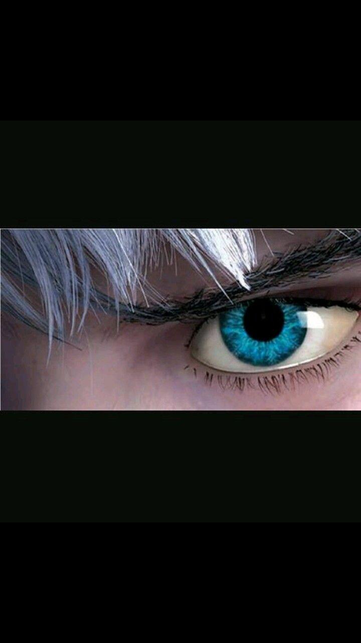 Hermosos ojos.  Jack Frost