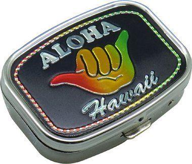 Hawaiian Pill Box Aloha Shaka