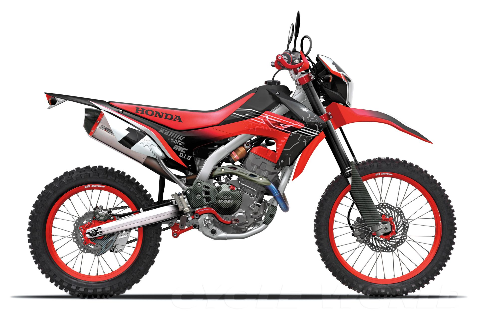 Honda CRF250L Dual sport motorcycle, Enduro motorcycle