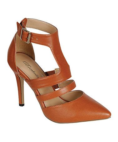 Look what I found on #zulily! Tan Isabel Pump #zulilyfinds