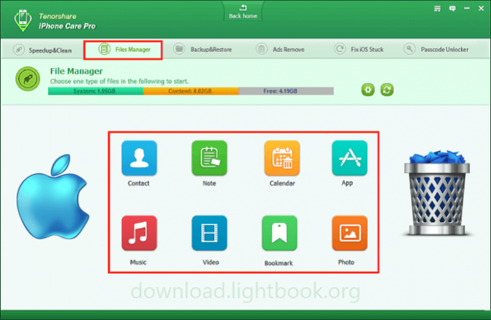 Télécharger iPhone Care Pro 🥇 Optimiser et Nettoyer iOS