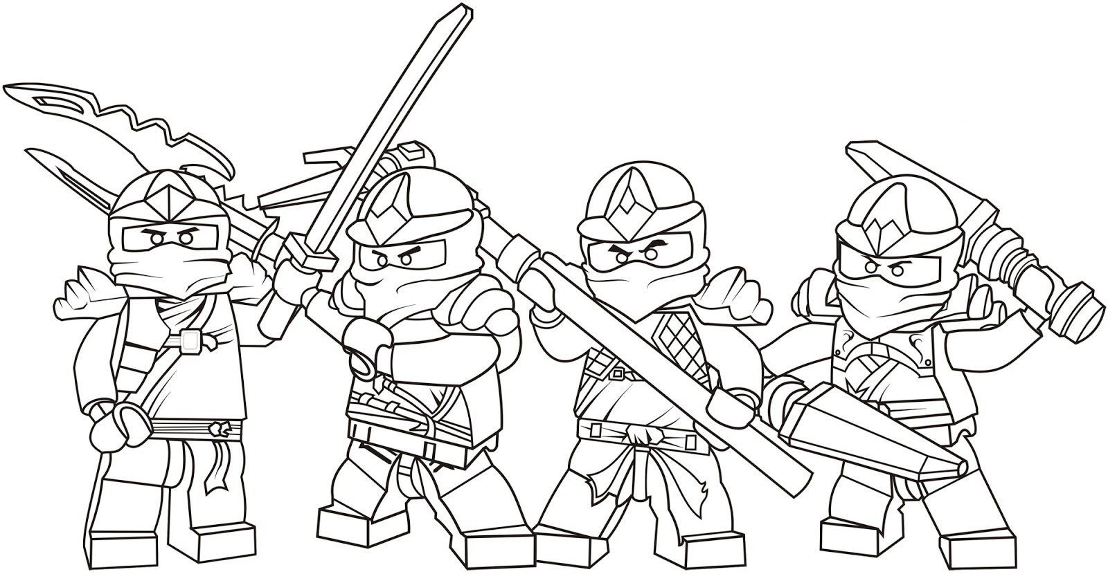- Free Printable Ninjago Coloring Pages For Kids (With Images