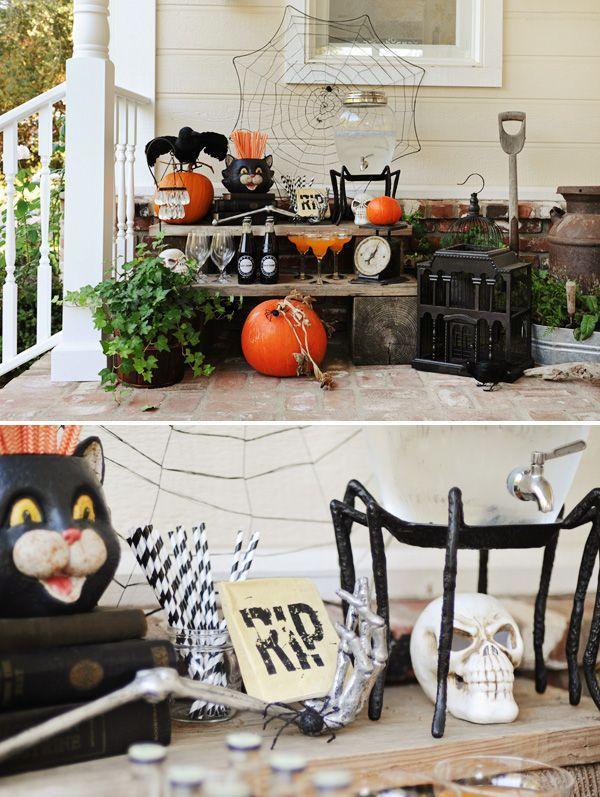 halloween dinner parties | Bone Appetit Halloween Dinner Party