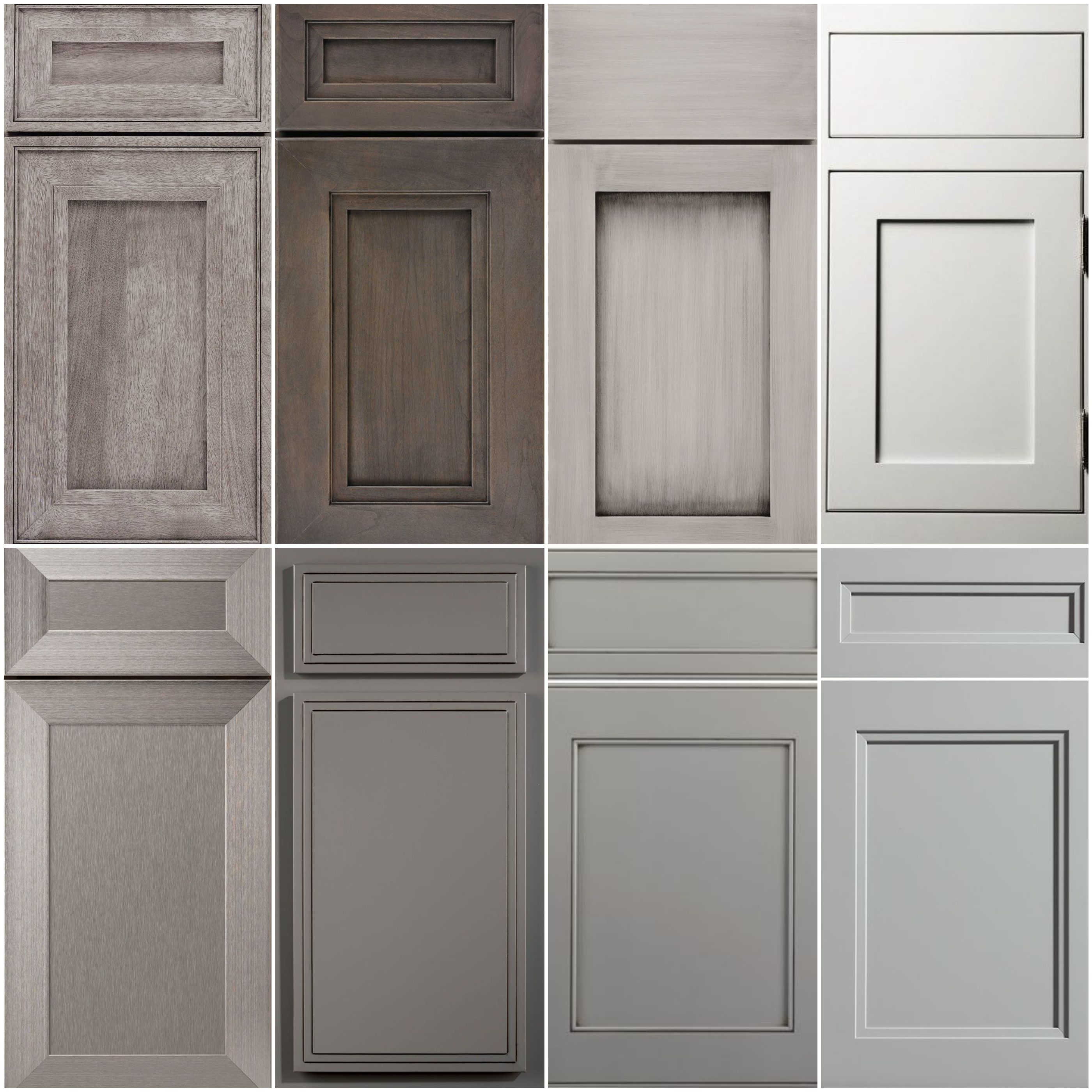 Shades Of Grey A Collage Of Our Favourites Shaker Style Cabinets Doors Trendy Farmhouse Kitchen Shaker Style Kitchen Cabinets Farmhouse Kitchen Cabinets