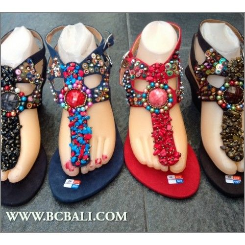 dd4bf2856539 Stone Beaded Wedges Sandals Suede Bali - wedges beads sandals bali suede