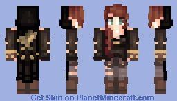 Miѕѕnigntowℓ My Oc Mercy Drawing In Description Minecraft Skin