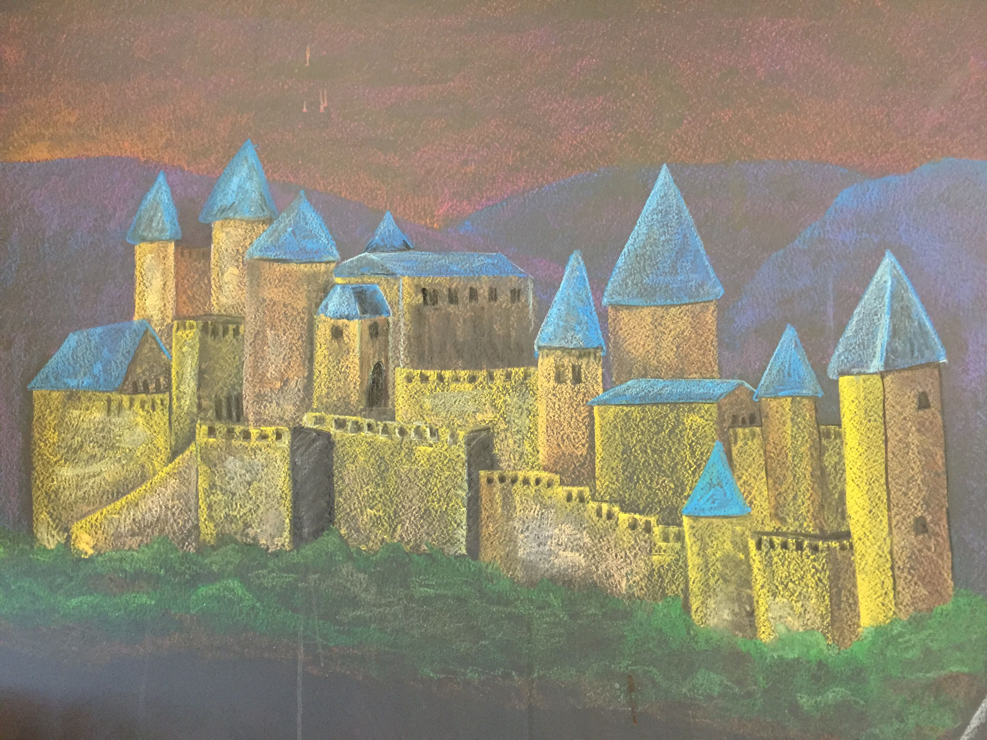 Castle Middle Ages Pinterest Inspired Waldorf Grade6