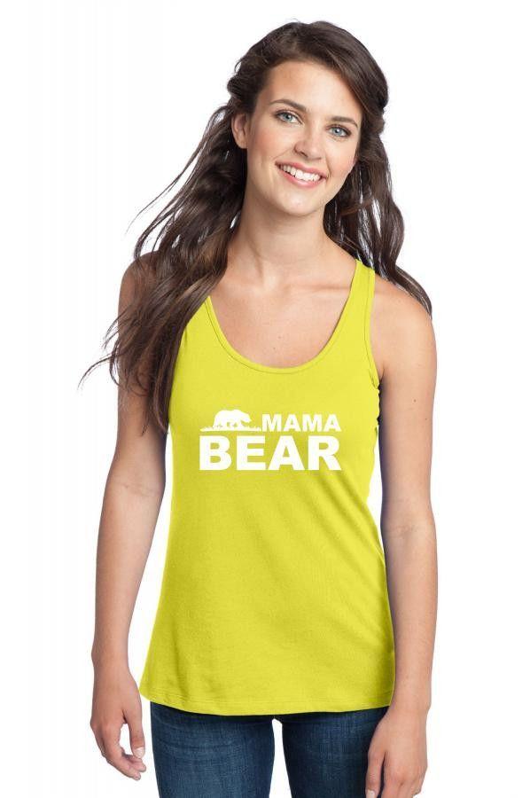 mama bear new 1 1 Racerback Tank