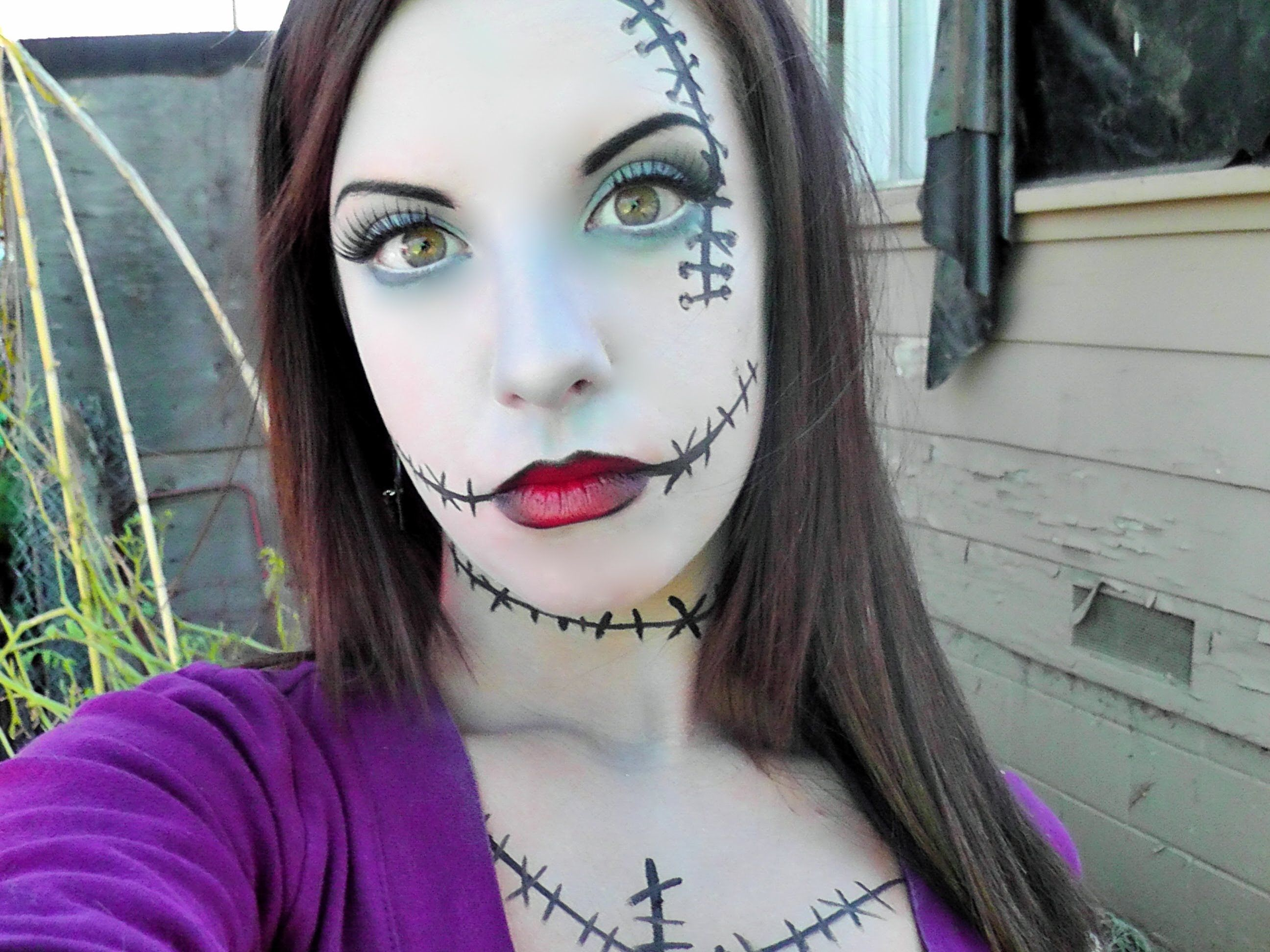 *Wearable* Sally Makeup. Not too cakey or intense