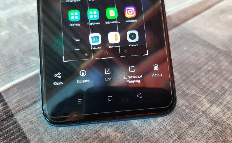 Cara Screenshot Di Realme C3 Screenshot 3 Jari Screenshot Panjang Dan Screenshot Tombol Smartphone Penghapus Lensa