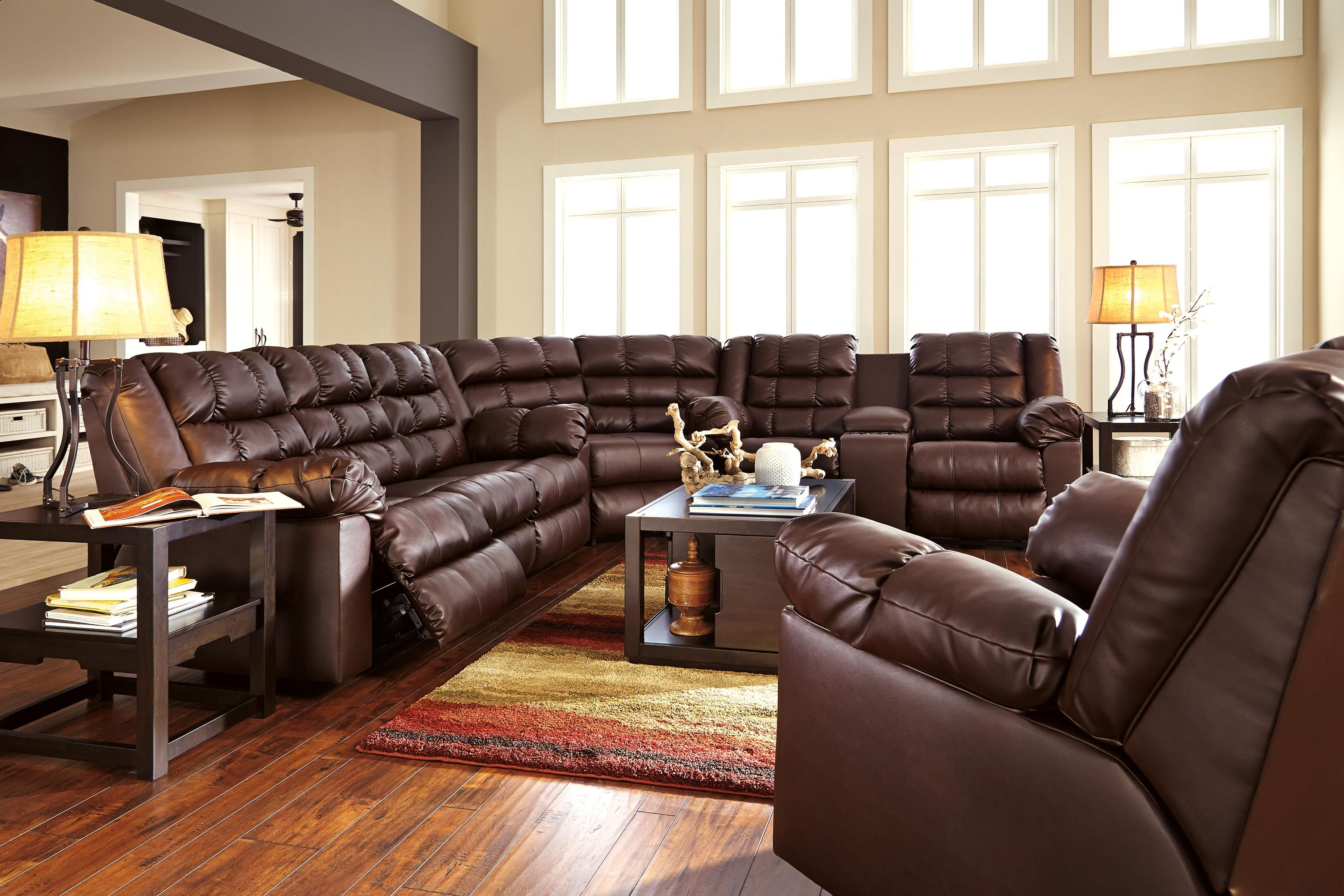 Brolayne Durablend Reclining Living Room Group By Signature